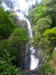 waterfall rappel