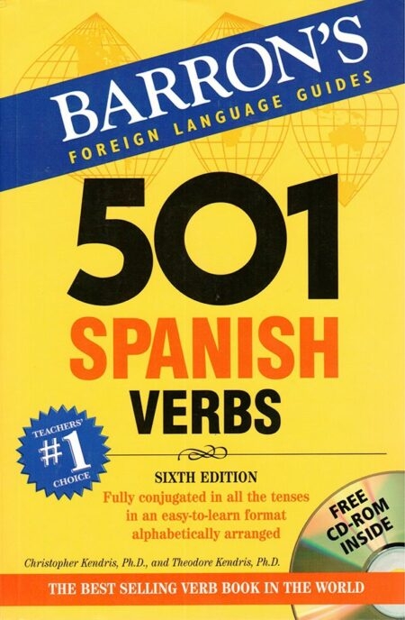 501 Spanish Verbs 6th edition