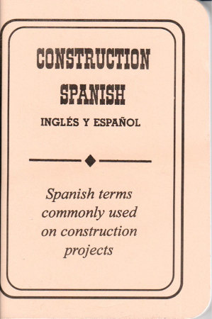 Construction Spanish Booklet