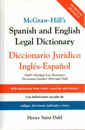 Spanish English Legal Dictionary