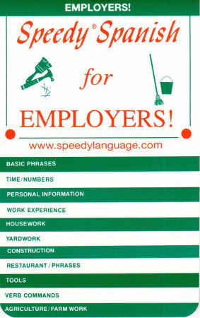 Speedy Spanish for Employers