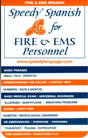 Speedy Spanish for Fire and EMS Personnel
