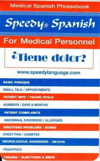 Speedy Spanish for Medical Personnel