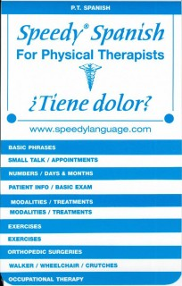 Speedy Spanish for Physical Therapists
