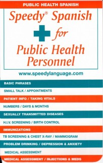 Speedy Spanish for Public Health Personnel
