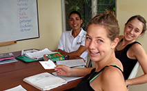 High school Spanish immersion and student travel programs include Spanish classes