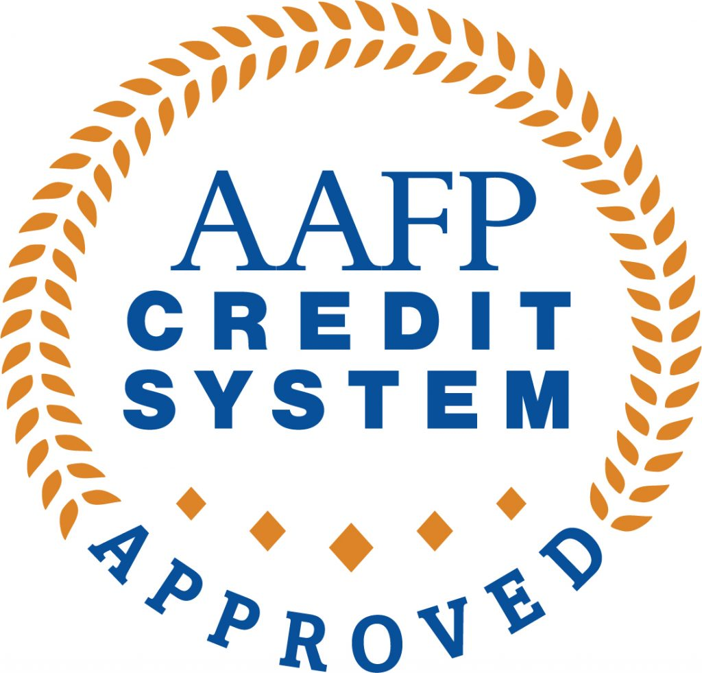 AAFP CME Credit Approved