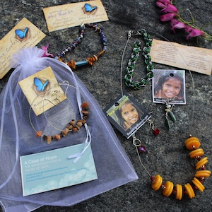 Small Case of Hope Jewelry