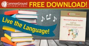 Top 10 Spanish Songs to learn Spanish Grammar