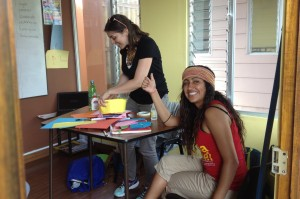 Spanish Immersion for adults includes community service
