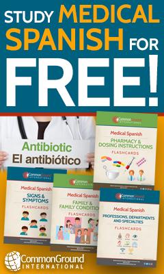 Free Medical Spanish Tools