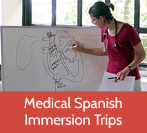 Health education while on Medical Spanish immersion in Costa Rica