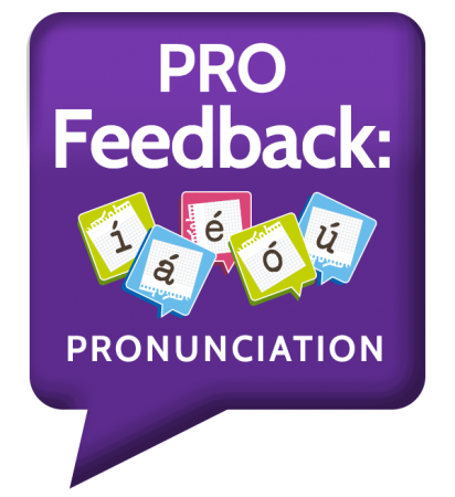 Pro feedback medical spanish pronunciation