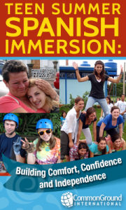 High school students on Spanish immersion having. The best Spanish student travel programs.