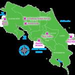 Costa Rica hotspots