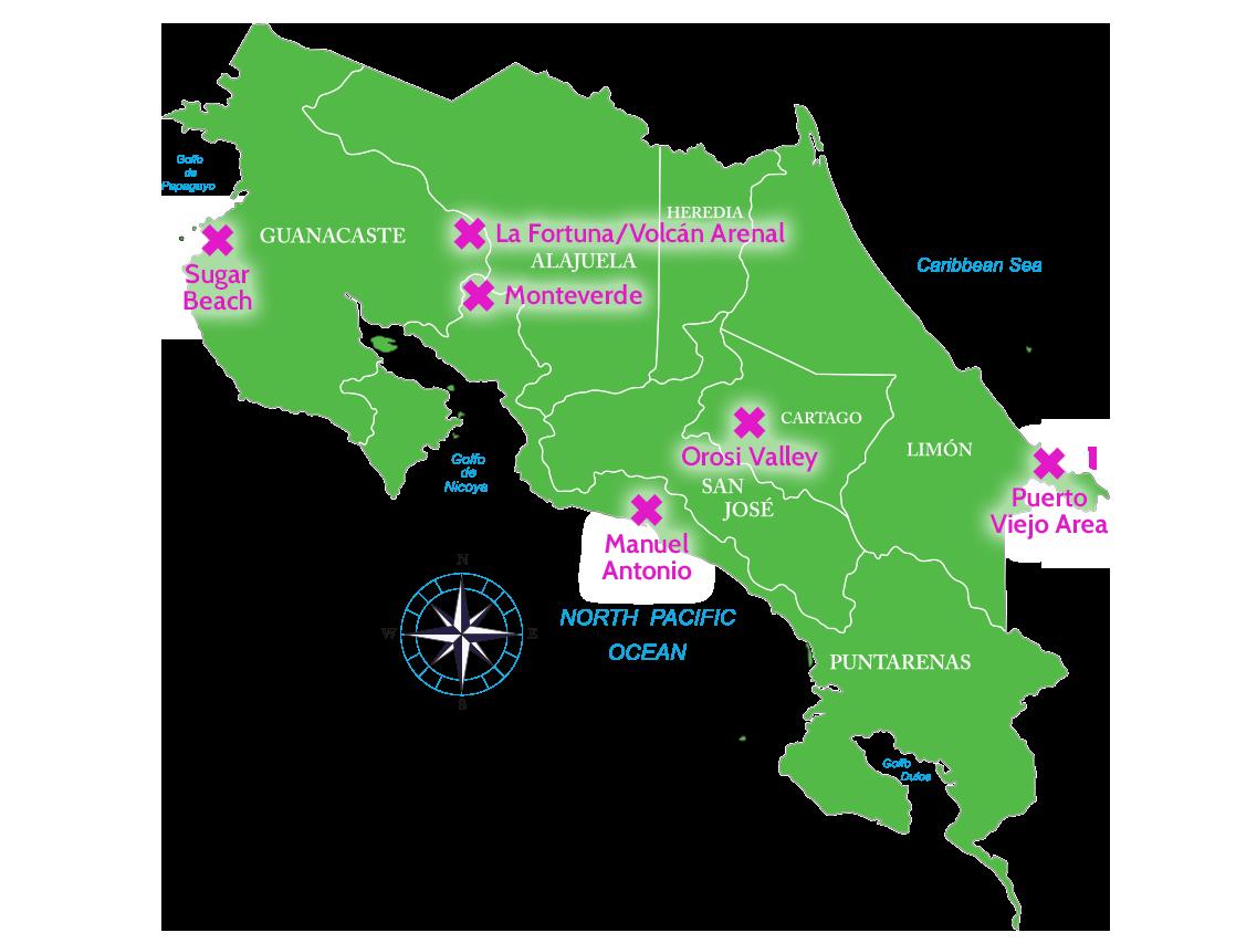 Costa Rica Travel Tips: Where to go in Costa Rica