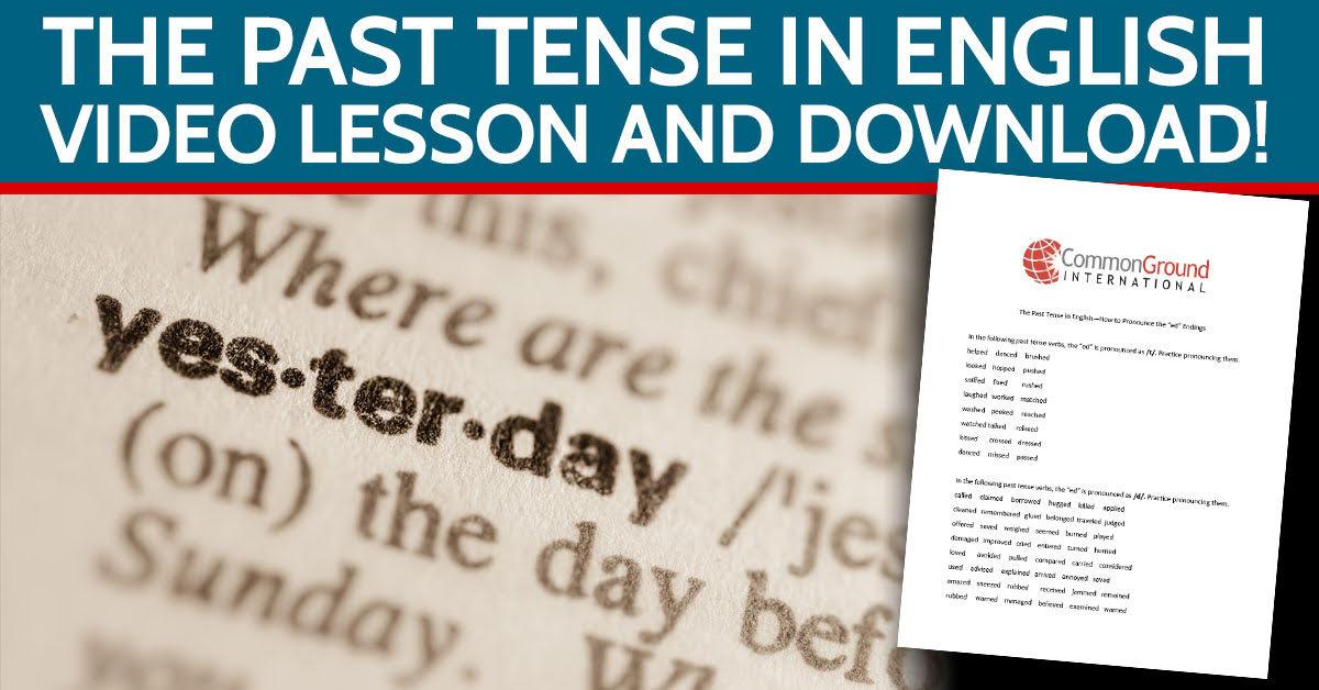 past-tense-english-common-ground-international