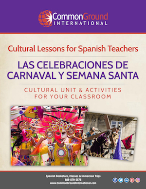 Carnaval & Semana Santa Spanish Class Activity