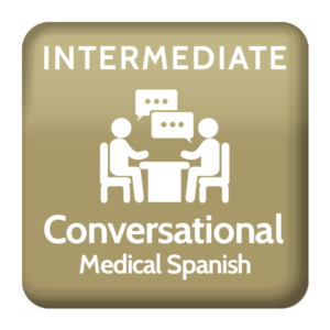 Medical Spanish intermediate Conversational class