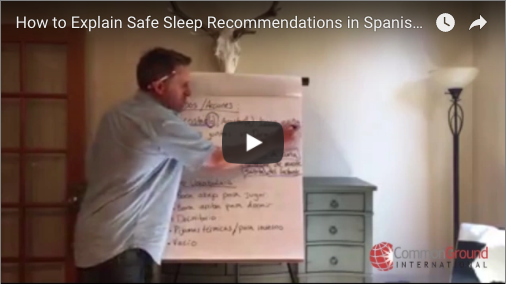 How to Explain Safe Sleep Recommendations in Spanish