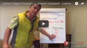 Indirect Object Pronouns Lesson & Quiz