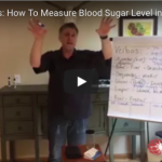How to measure blood sugar levels in Spanish
