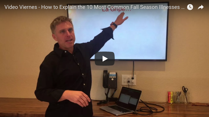 How to Explain the 10 Most Common Fall Season Illnesses in Spanish