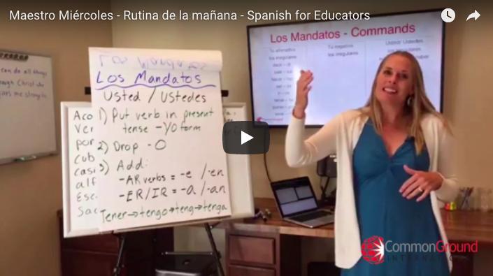 Maestro Miércoles – Classroom Morning Routines in Spanish