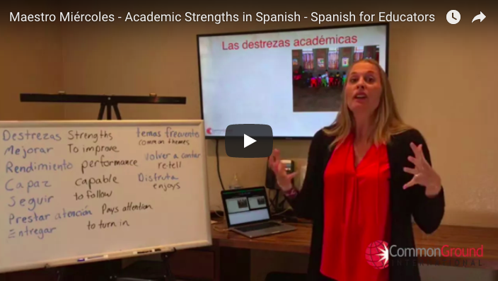 Maestro Miércoles – Talking About Academic Strengths in Spanish