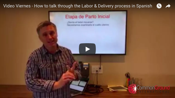 Video Viernes – How to talk through the Labor & Delivery process in Spanish