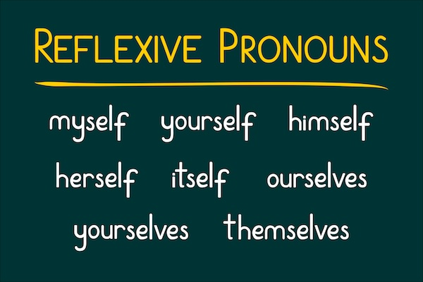 Reflexive and Reciprocal Pronouns in English–I Can Do It Myself!