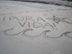 Pura Vida - Manuel Antonio Weekend Beach excursion
