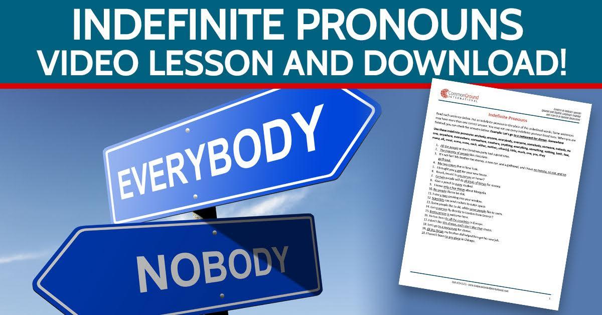 indefinite-pronouns-in-English