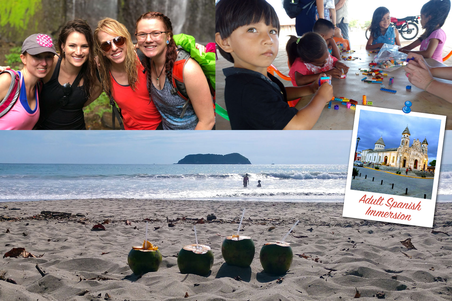 Spanish Immersion for Adults in Costa Rica, Ecuador & Nicaragua
