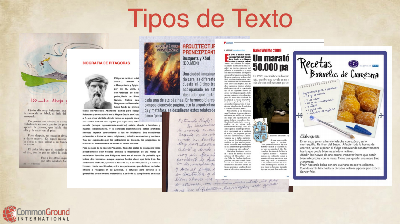 Spanish for Educators – Literacy #2 Types of Texts and Their Characteristics