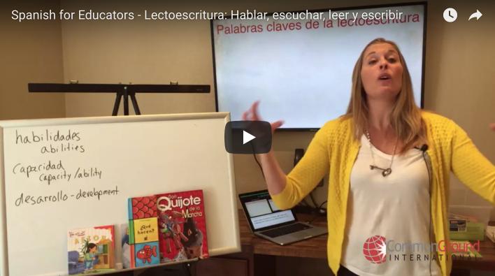 Maestro Miércoles – La Lectoescritura: Hablar, escuchar, leer y escribir