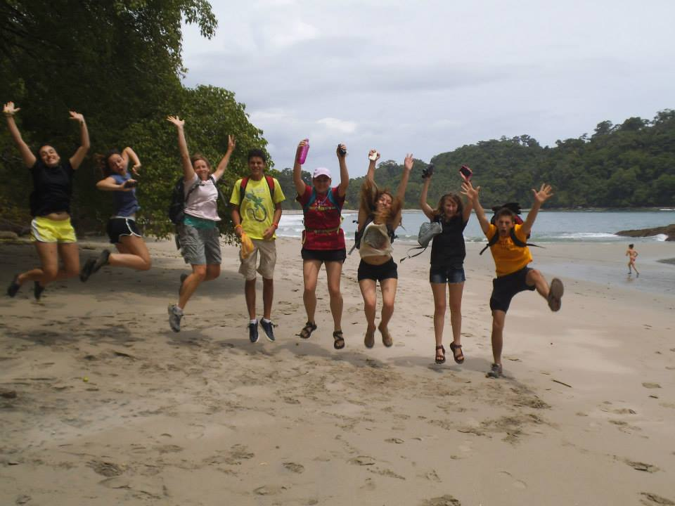 Beach and Spanish Immersion for teens - high school students immersion travel to Costa Rica