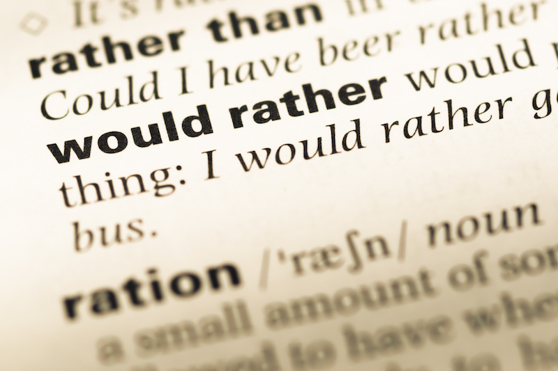 Modal Verbs–Verbs of Deduction, Expectation, and Preference