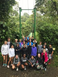 High School Spanish Immersion Arenal National Park Hike and Zipline