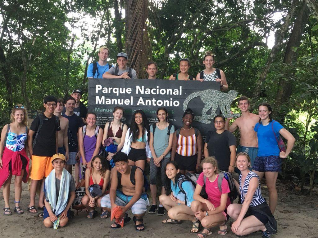 High school Spanish immersion in Costa Rica