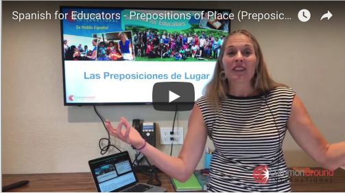 Maestro Miércoles – 15 Prepositions of Place in Spanish