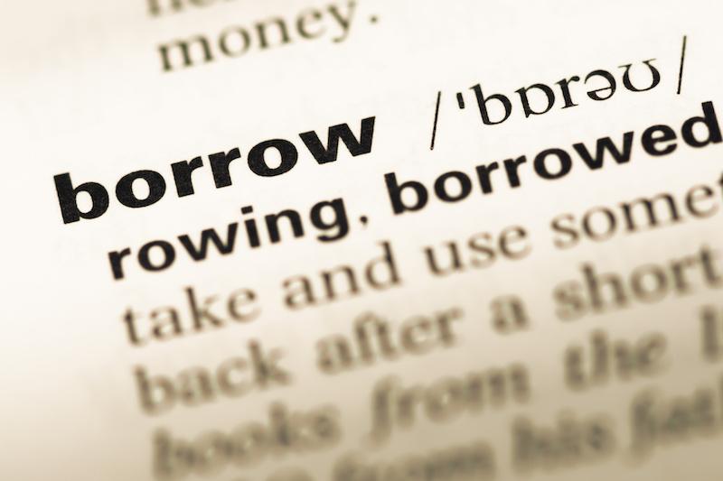 Borrowed words in english