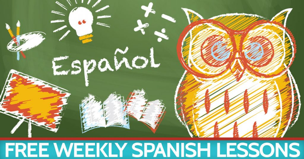 Weekly Spanish lessons for teachers