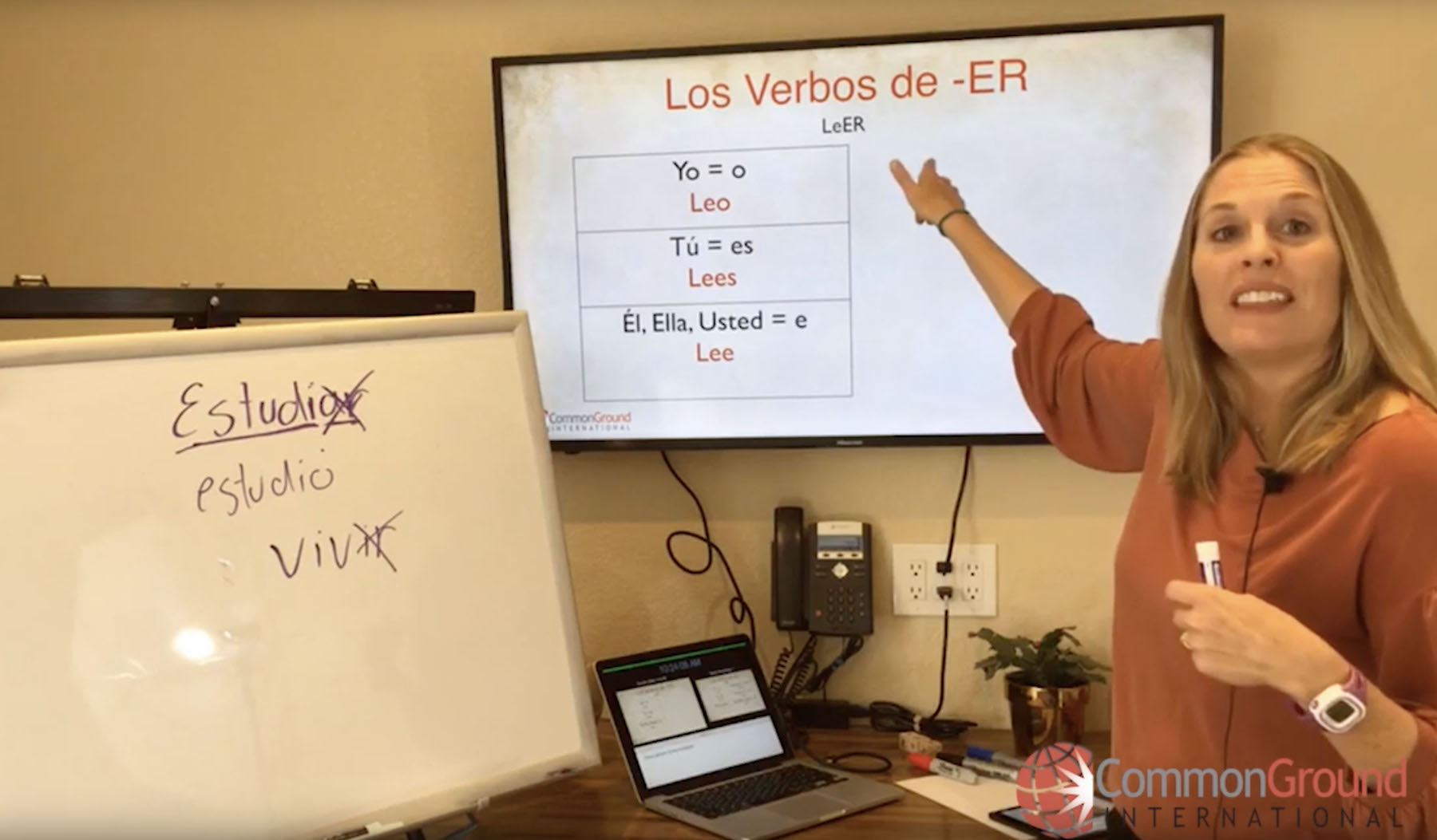 Spanish for Educators – Regular Verbs in the Present Tense in Spanish