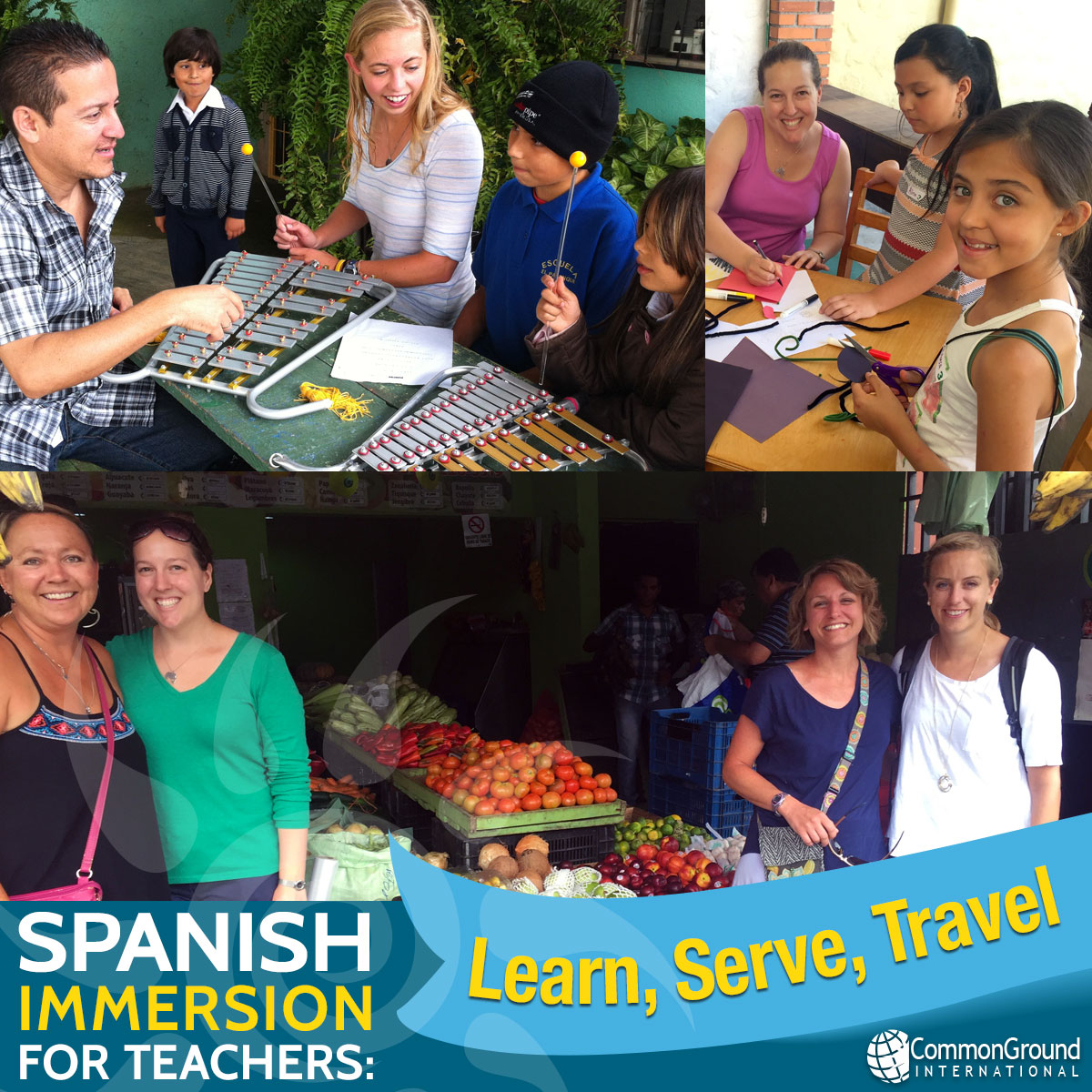 Spanish immersion for educators