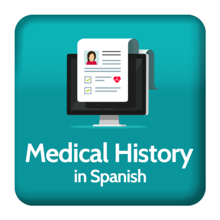 Medical history in Spanish