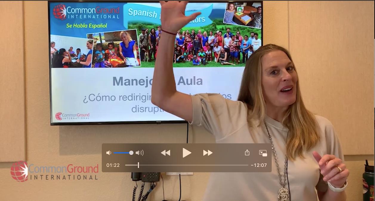"Spanish for Educators – Redirective Language ""El lenguaje redirectivo"""