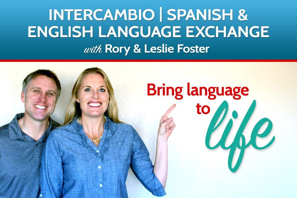 Spanish English Intercambio practice group