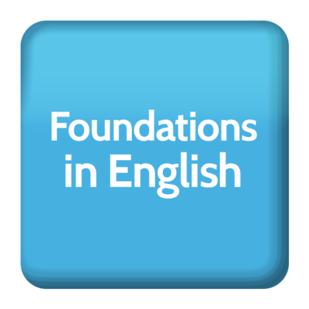 Foundations in English