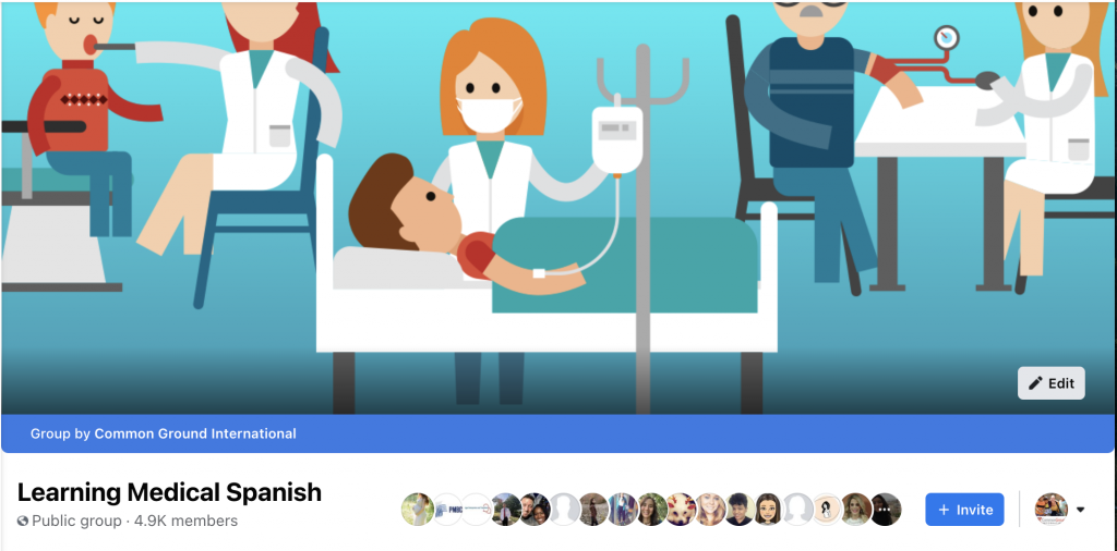 Medical Spanish Facebook Group